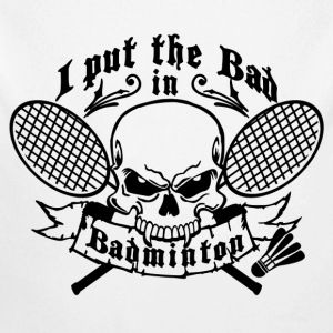 I put the bad in Badminton Tröjor - Ekologisk långärmad babybody