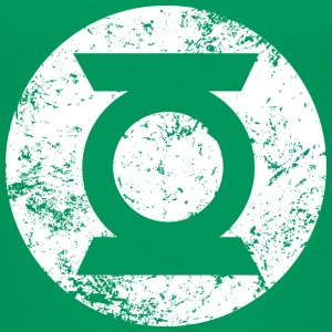 Green Lantern logo - transparent teenage-T-shirt - Teenager premium T-shirt