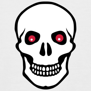 Pirate skull T-Shirts - Männer Baseball-T-Shirt