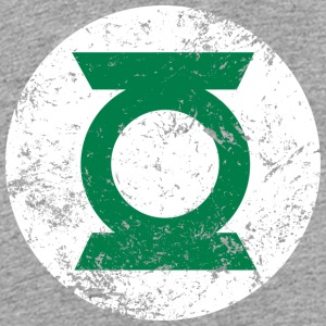 Justice League Green Lantern Logo T-skjorte for ba - Premium T-skjorte for barn