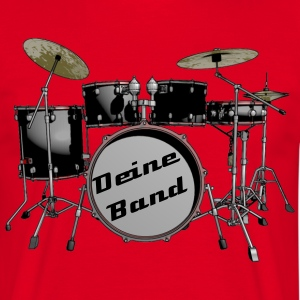 drum set T-Shirts - Men's T-Shirt