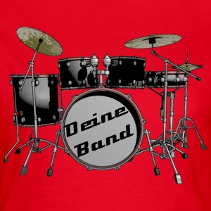 drum set T-Shirts - Women's T-Shirt