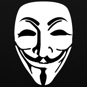 Mask Guy Fawkes anonymous - Tote Bag