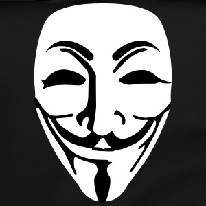 Mask Guy Fawkes anonymous - Shoulder Bag