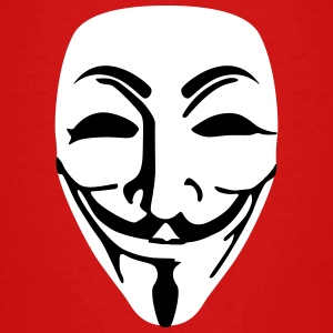 Guy Fawkes anonymous Kinder T-Shirt - Teenager Premium T-Shirt