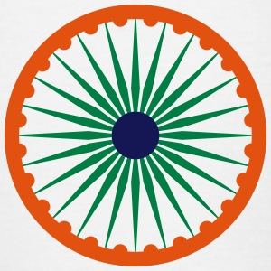Ashoka Chakra indian flag kids tee - Teenage T-shirt