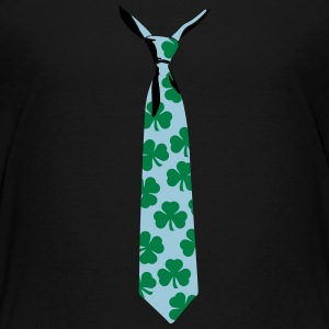 Shamrock tie kids t shirt - Teenage Premium T-Shirt