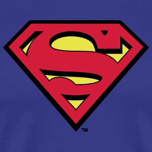Superman S-Shield Mannen T-Shirt - Mannen Premium T-shirt