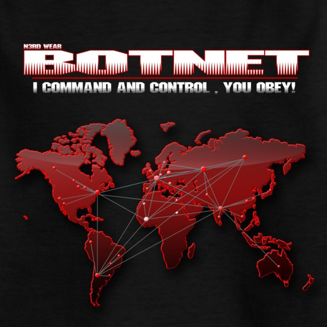 Botnet - Command and Control (Kindershirt)