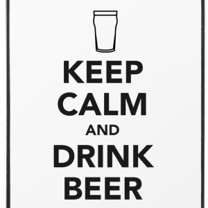 Keep Calm and Drink Beer Phone & Tablet Cases - iPhone 4/4s Hard Case