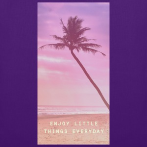 enjoy little things everyday Tassen & rugzakken - Tas van stof