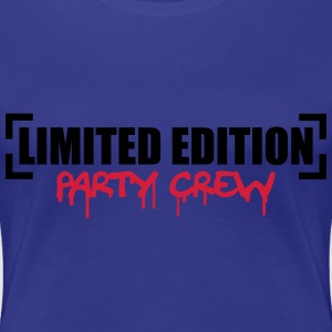 Limited Edition Party Crew Design T-shirts - Dame premium T-shirt