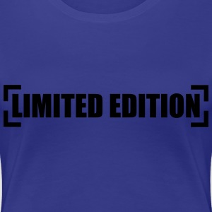 Limited Edition T-shirts - Dame premium T-shirt
