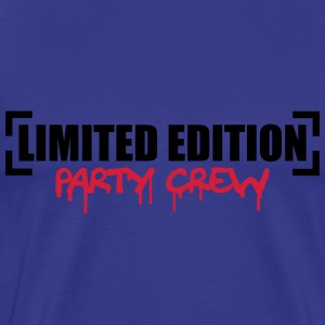 Limited Edition Party Crew Design T-shirts - Mannen Premium T-shirt