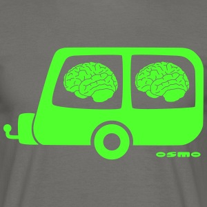 braincaravan - Men's T-Shirt