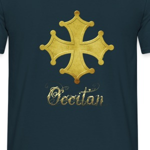 croix occitane 3D metal or Tee shirts - T-shirt Homme