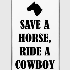 Save a horse ride Cowboy Handy & Tablet Hüllen - iPhone 4/4s Hard Case