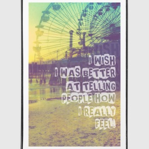 _I wish,Hipster T-Shirts,Moustache,Triangle,Hipsta Handy & Tablet Hüllen - iPhone 4/4s Hard Case