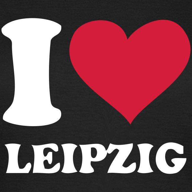 Leipzig T-Shirt Damen schwarz