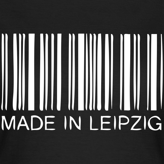 Made in Leipzig T-Shirt Damen schwarz