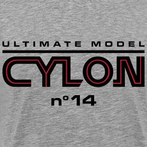 Ultimate model cylon n°14 - Herre premium T-shirt