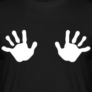 Two Hands T-shirts - T-shirt herr