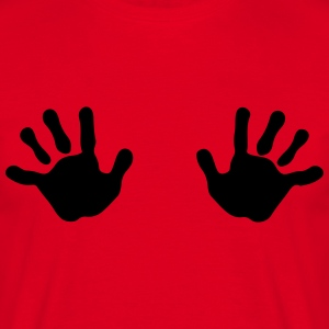 Two Hands T-shirts - Mannen T-shirt