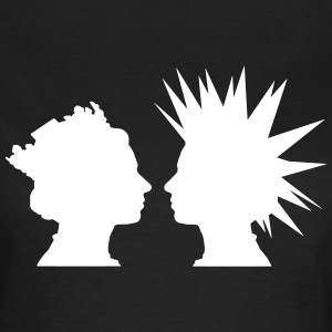 Punk Queen T-Shirts - Frauen T-Shirt