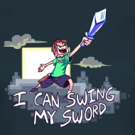 Design ~ I Can Swing My Sword (Minecraft Diamond Sword Song) (Women)