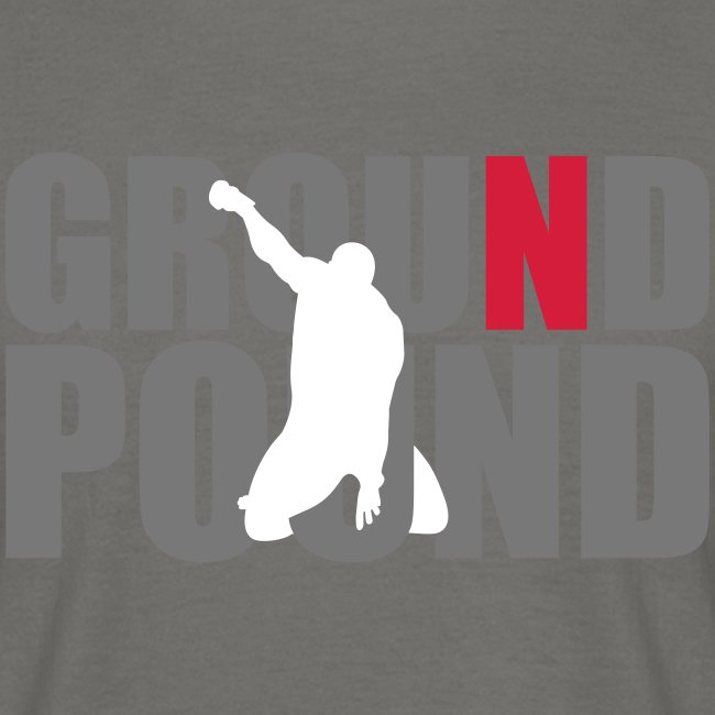 "Men's ""MMA Ground n Pound #4"" T-Shirt - B&C"