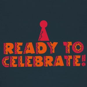READY TO CELEBRATE! with party hat! T-Shirts - Women's T-Shirt