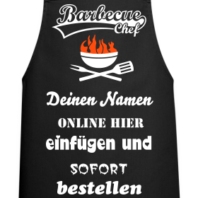 barbeque grill chef grillsch rze f r m nner und frauen personalisierte kochsch rze online. Black Bedroom Furniture Sets. Home Design Ideas