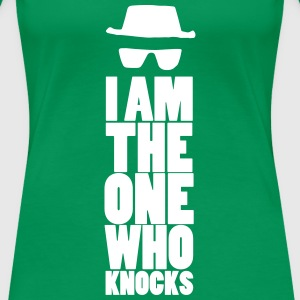 I am the one who knocks - Vrouwen Premium T-shirt
