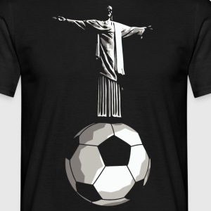 Jesus Rio football  T-Shirts - Men's T-Shirt