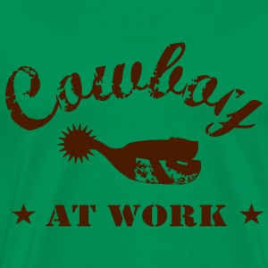 cowboy_at_work T-Shirts - Männer Premium T-Shirt