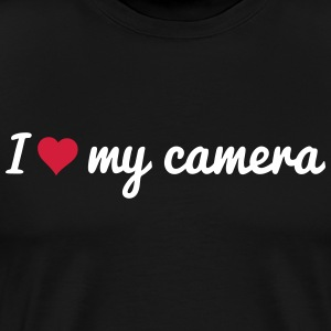 i love my camera T-Shirts - Men's Premium T-Shirt