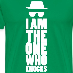 I am the one who knocks - Men's Premium T-Shirt