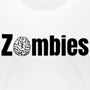Zombies T-Shirts - Frauen Premium T-Shirt