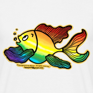 Rainbow Fish - Men's T-Shirt