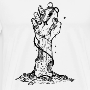 Zombie Pc Gamer Tee shirts - Men's Premium T-Shirt
