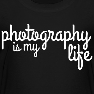 photography is my life Shirts - Kids' Premium T-Shirt