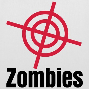 i shoot zombies Bags & backpacks - Tote Bag