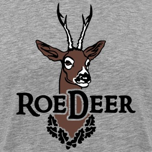 roe_deer_head T-Shirts - Men's Premium T-Shirt