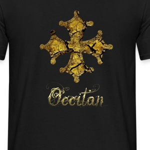 croix occitane terre ocre Tee shirts - T-shirt Homme