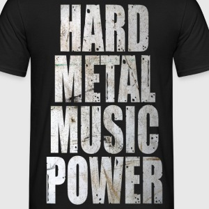 Hard metal music power T-Shirts - Männer T-Shirt