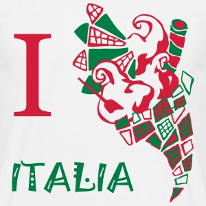 I Love Italian Ice-cream - Men's T-Shirt