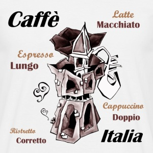 I Love Italian Coffee - Men's T-Shirt
