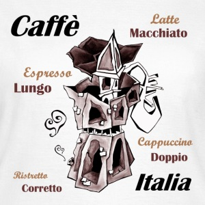 I Love Italian Coffee - Women's T-Shirt