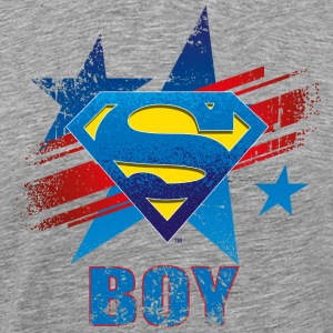 Tee-shirt pour hommes Superman S-Shield Boy - T-shirt Premium Homme