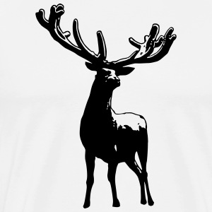 Deer Summer WILD T-Shirts - Men's Premium T-Shirt
